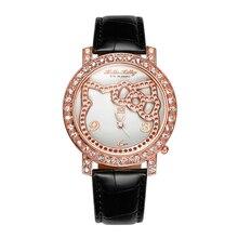 2016 New Brand Hello kitty watch Fashion Quartz kitti watch Women High Quality lovely designer hellokitty watches montre enfant