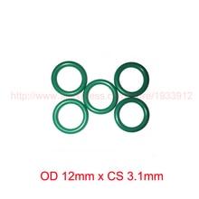 OD 12mm x CS 3.1mm viton fkm rubber sealing o ring oring o-ring
