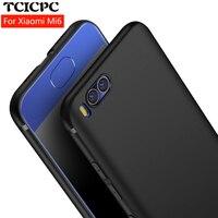 TCICPC case for Xiaomi mi6 mi 6 m6 silicone Luxury 360 Ultra thin scrab matte silicone TPU soft phone cover for Xiaomi mi6 case