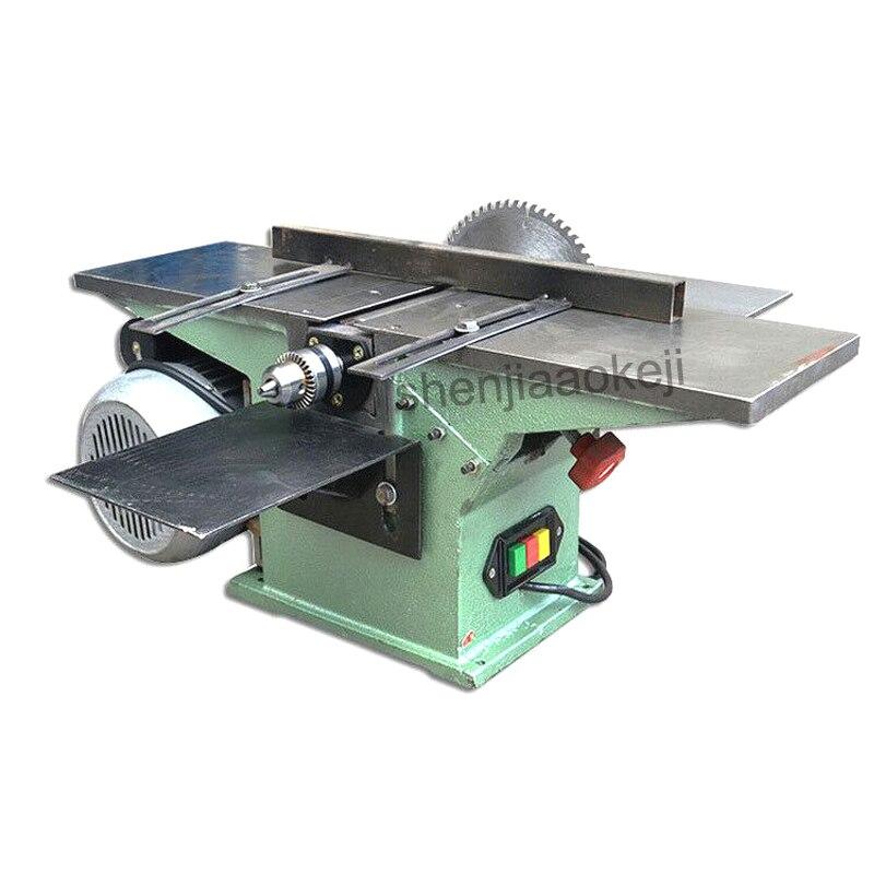 Maquinaria de madera eléctrica Industrial espesadora para carpintero uso multifuncional de sierras de madera cepilladora de sierra de madera