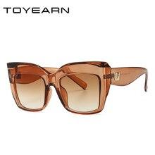 Роскошные брендовые дизайнерские женские негабаритные солнцезащитные очки кошачий глаз, Женские винтажные солнцезащитные очки для женщин, солнцезащитные очки UV400 oculos de sol