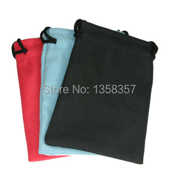 High quality velvet drawstring jewerly bag for necklace/Iphone4,Size can be customized,Various colors are available.,wholesale.