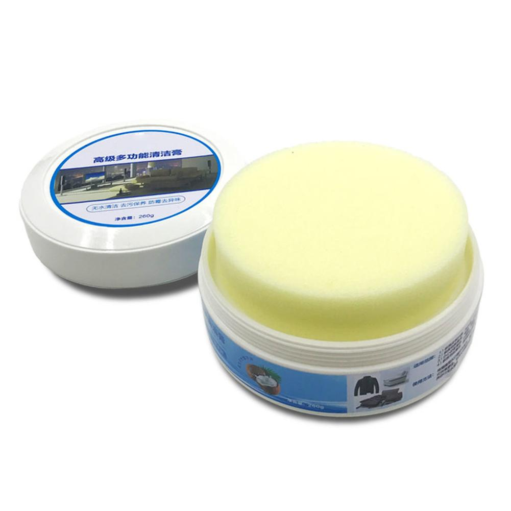 Cleaning Paste Oyster Cream Yellow Wolf Cream Leather Goods Care Cream Shoe Polish Leder Schoonmaken Cream For Shoes Bag Sofa