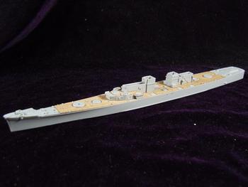 Trumpeter model American Baltimore ARTWOX cruiser wooden 1944 deck AW20073