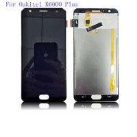 Original LCD Screen For Oukitel K6000 plus LCD Replacement LCD Digitizer Assembly Tested High quality K 6000 LCD with Tools kit