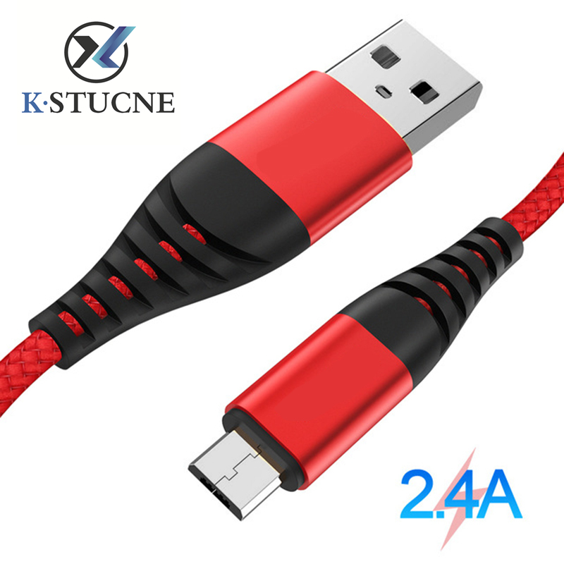 Quick Charge 2 4A Micro USB Cable Fast Charging Microusb Cables For Samsung S7 Xiaomi Redmi Note 5 Android Phone Data Sync Cord in Mobile Phone Chargers from Cellphones Telecommunications