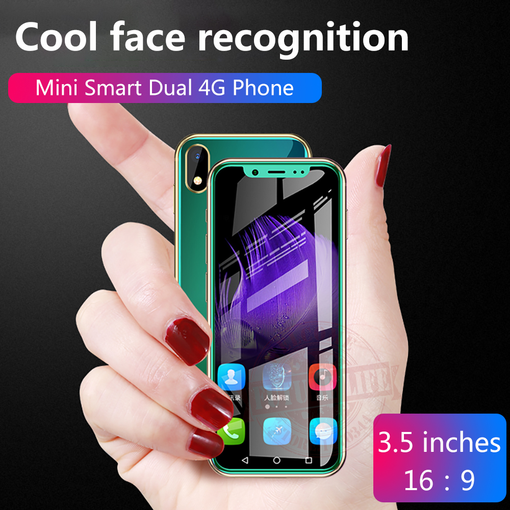 Anica K-TOUCH I9 Smallest mini dual 4G Ultra thin 3 5 Screen Face ID