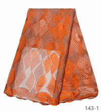 Nigerian French Lace Fabrics High Quality French Tulle Lace Fabric For African Embroidery Net Lace 5 Yards 143 цена и фото