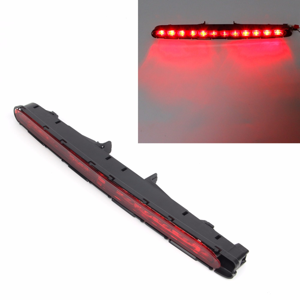 1Pc New 12V Auto Car Rear Tail 3RD Stop Brake Turn Signal Light Rear Strip For Benz E Class W211 2003 2009 Red Light