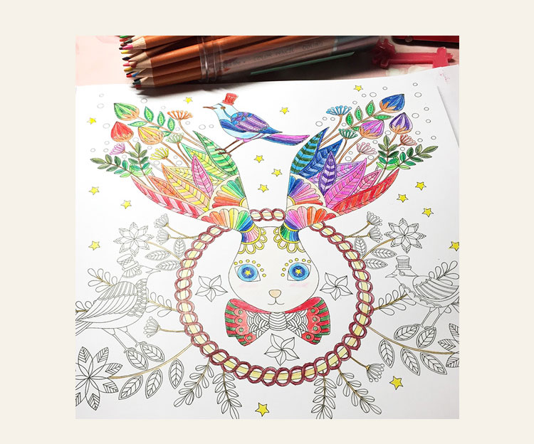 Wholesale 20pcs Lot Fantasy Dream Fashion Secret Garden Style Alice Rabit Drawing Book Coloring Books For Adults Children Gifts In From Office