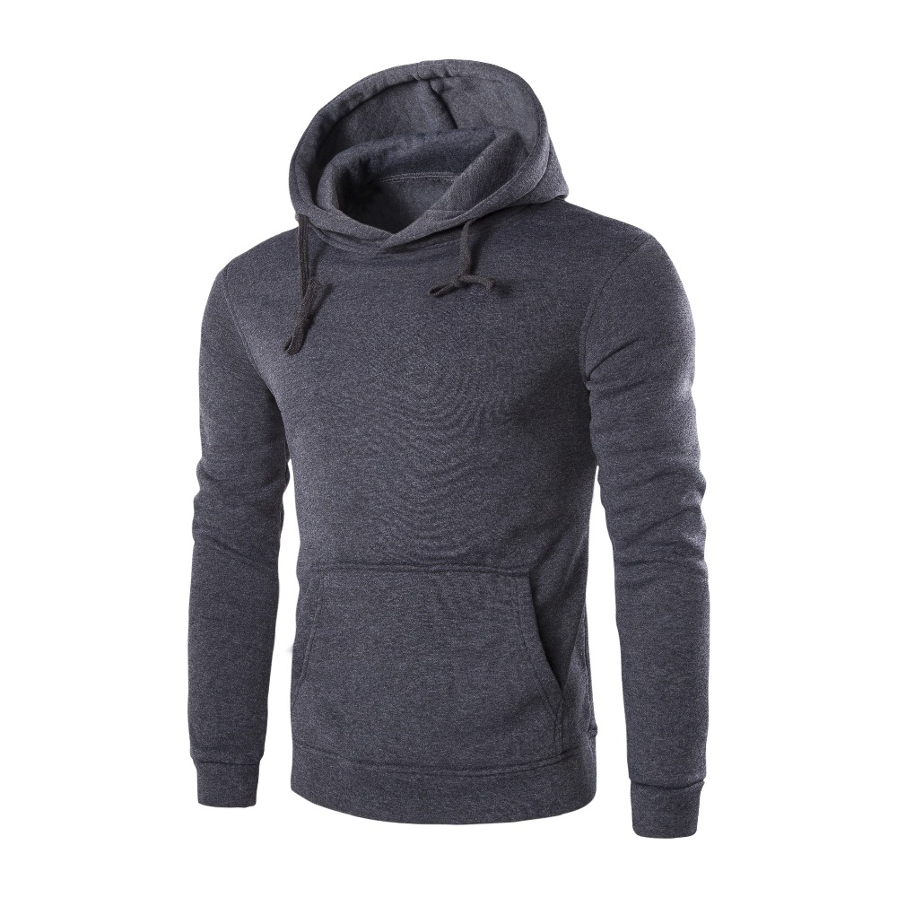 Men's casual autumn hooded 4
