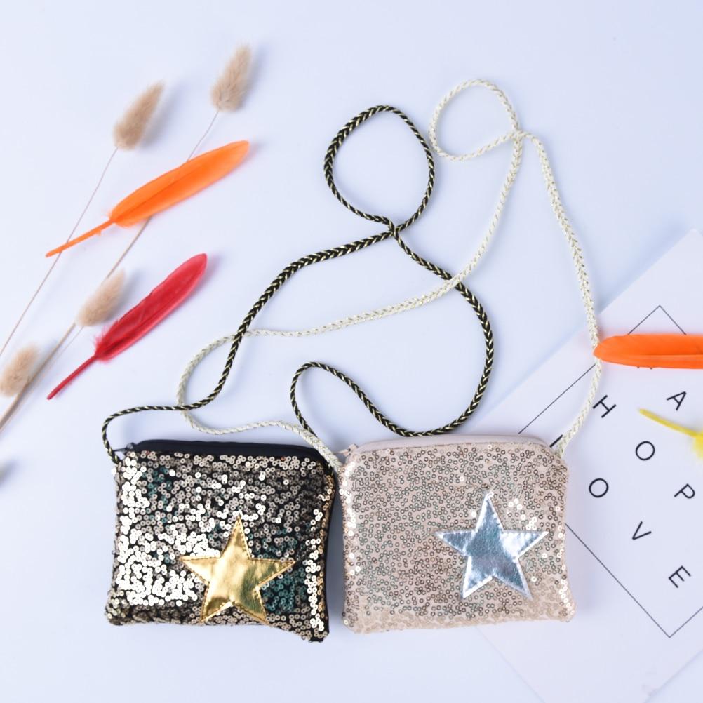 1 Stück Mädchen Kleine Pailletten Geldbörse Ändern Brieftasche Kinder Tasche Münzfach Kinder Stern Brieftasche Geld Halter Kinder Geschenk