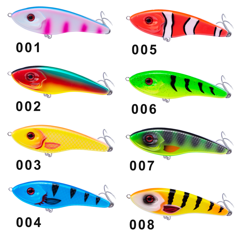 Image 3 - Hunthouse Jerkbait Musky Buster Pike Fishing Lure 11.5/14.5cm 32/52g Jerk VIB Baits Slow Sinking Big Bass Pesca westin-in Fishing Lures from Sports & Entertainment