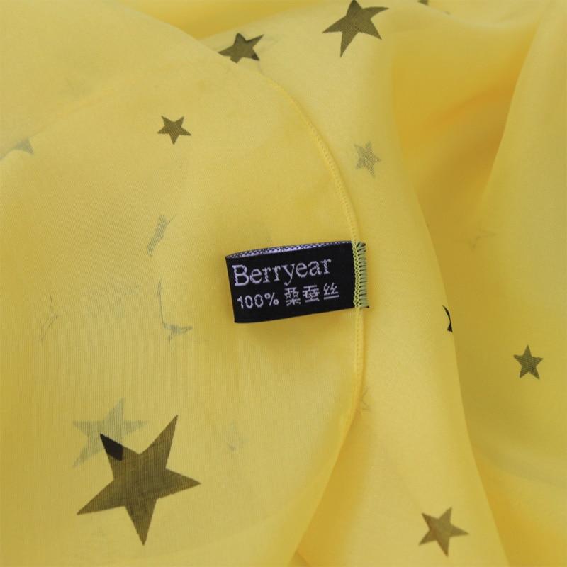Berryear Silk Scarf 2018 Summer Fashion wanita Scarf Hot Sale Silk - Aksesori pakaian - Foto 3