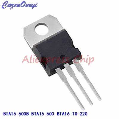 1pcs/lot BTA16-600B BTA16-600 BTA16 Triacs 16 Amp 600 Volt TO-220 new original In Stock