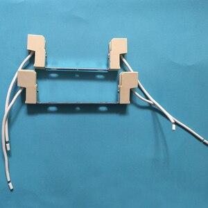 R7S удобный легкий аксессуар керамическая Бытовая легкая установка подставка держатель гнезда лампы прочный металлический разъем