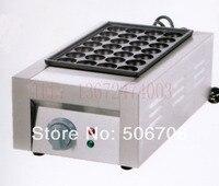 Commercial Use Non stick 220v Electric Japanese Grilled Octopus Takoyaki Maker Machine Baker Iron Mold