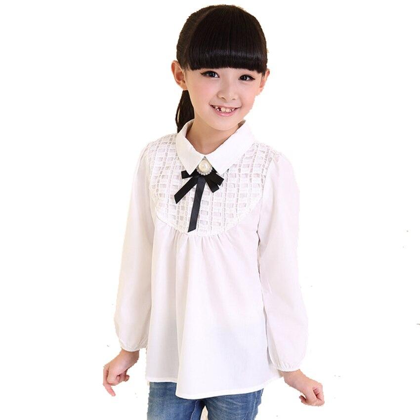 Popular Girl White Blouse-Buy Cheap Girl White Blouse lots from ...