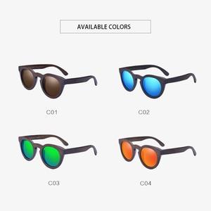 Image 5 - AOFLY BRAND DESIGN Women Sunglasses Polarized Cat Eye Sun Glasses Wooden Frame Vintage Handmade Bamboo Gafas UV400 AF603