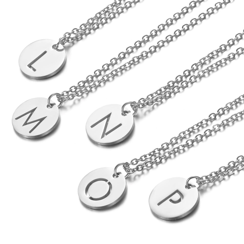 coin connector,Stainless Steel Round Bracelet Necklace Charm 15*15*1.5mm 1pcs