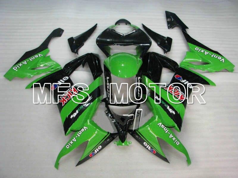 For Kawasaki NINJA ZX10R 2008 2009 2010 08 09 10 Injection ABS Fairing Kits NINJA ZX 10R 08 09 10 Green/Black
