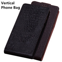 TZ12 Genuine Leather Case Cover For Asus ZenFone 4 Max ZC554KL Vertical flip Phone Up and Down Leather Cover phone Case
