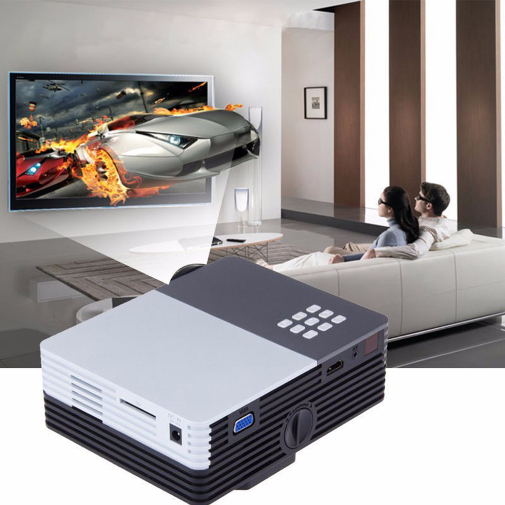 small resolution of 1080p mini projector portable home theater connecting with tv pc media player sd card for ipad iphone android smartphone us in projectors from computer