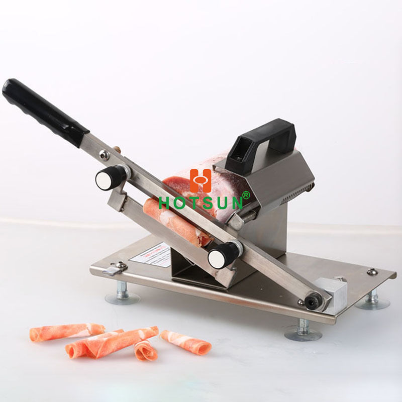 Stainless Steel Kitchen Manual 0.2mm-30mm Meat Slicer Beaf Mutton Sheet Cutter stainless steel manual meat slicer