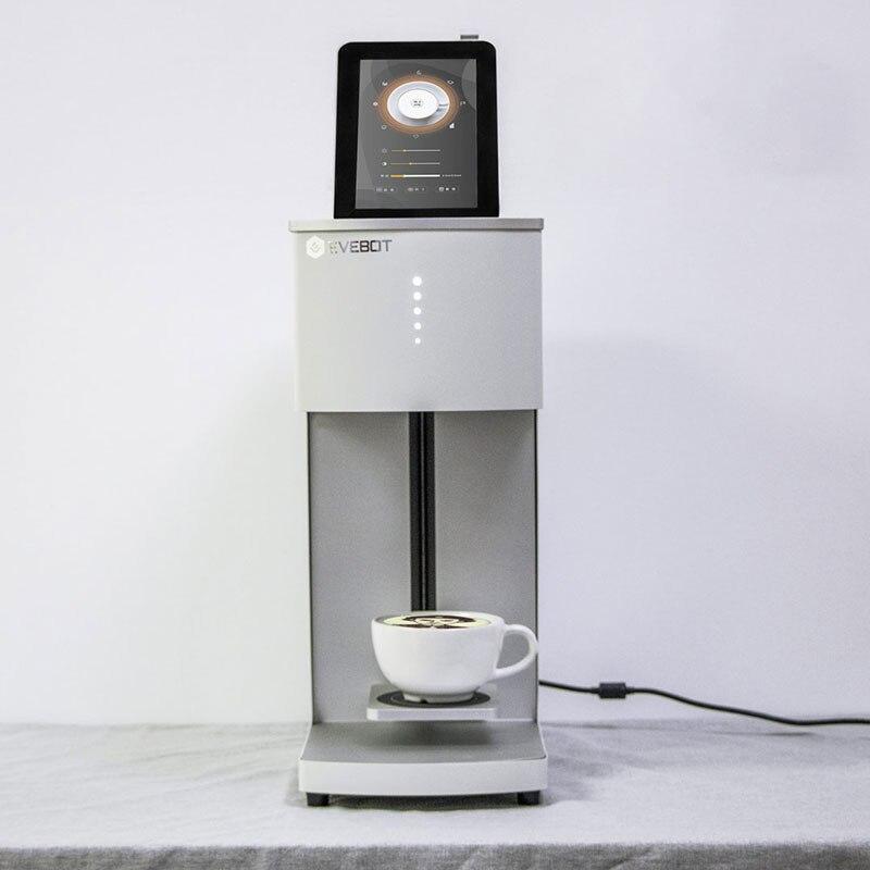 Offre spéciale en 2019 meilleure imprimante à café connexion WiFi en utilisant une imprimante à jet d'encre café autoportrait