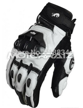 Free shipping  afs6 motorcycle gloves racing gloves cycling glove Genuine leather Cool motor gloves M L XL