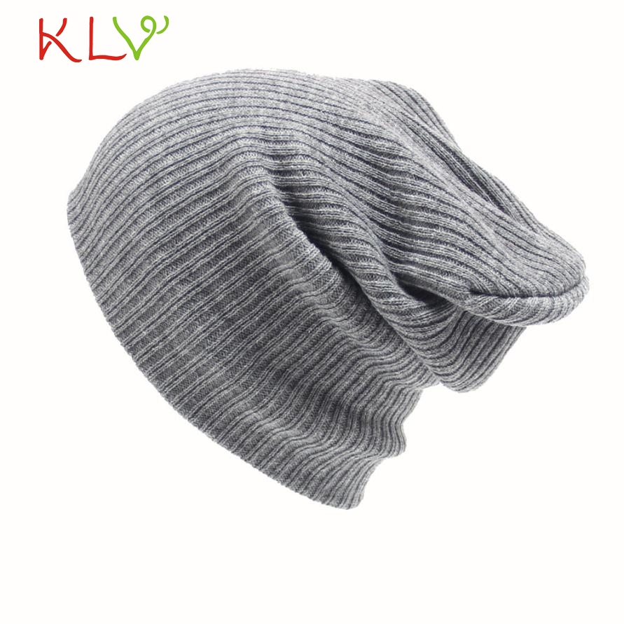 Skullies & Beanies Men's Women Beanie Knit Soft Cap Hip-Hop Winter Warm Unisex Wool Hat Levert Dropship 302 Hot Dropship [swgool] skullies
