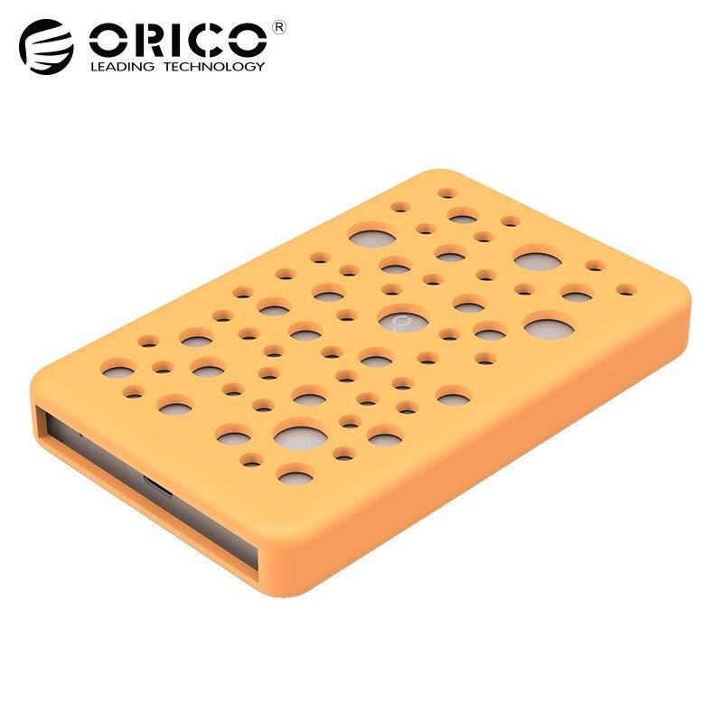 ORICO 2.5 Disque Dur Nas Drive Externe Box Boîtier HDD Hd Boîtier En Aluminium USB3.0 5 \ 6 Gbps à SATA Silicone Housse De Protection