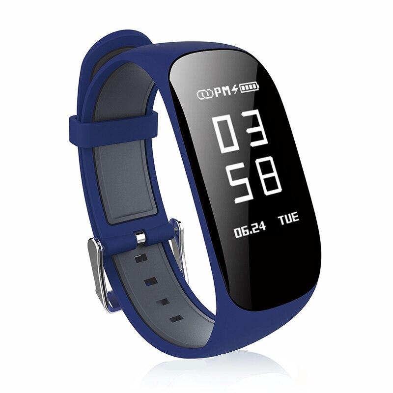 ZAOYIMALL Bande À Puce Z17 RH Bracelet GPS Sport Bracelet Moniteur de Fréquence Cardiaque Podomètre Fitness Tracker Étanche PK mi bande 3