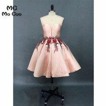 6874d411c3b 2018 krótkie sukienki koktajlowe homecoming sukienka drapowana aplikacje  księżniczka krótki homecoming suknie wieczorowe suknia 100%