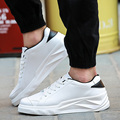 Fashion Men Breathable Leather Shoes Casual Sport Shoes Lace Up Platform Runner Zapatillas Deportivas Hombre Masculina Sapatos