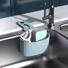 Eco-friendly Kitchen Sink Storage Hanging Basket Adjustable Holder Type Drain Rack Faucet Organizer