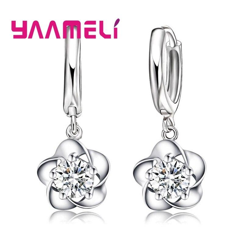Earrings Drop Earrings Fashion Style Silver Plated Cute Hot Women Lady Nice Wedding Fashion 8mm Beads Earrings Simple Stud Silver Earrings 925e073