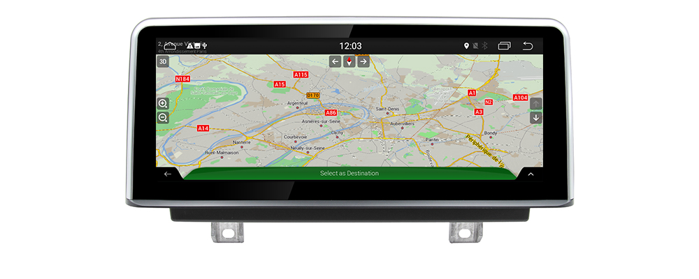 Android 7.0 up Car Multimedia player ForBMW 1 Series F20 2018-2019 Hatchback   WiFi GPS Navi Map Stereo Bluetooth 1080p IPS Screen8