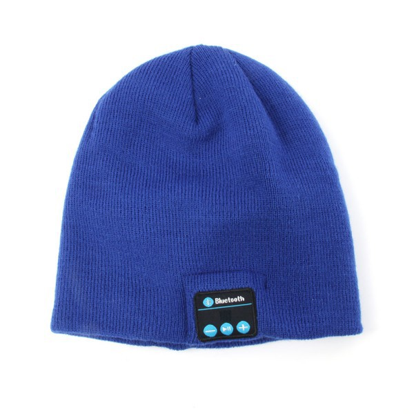Women Men Autumn Winter Warm Beanie Hat Wireless Smart Bluetooth Cap Headphone Headset Speaker Mic