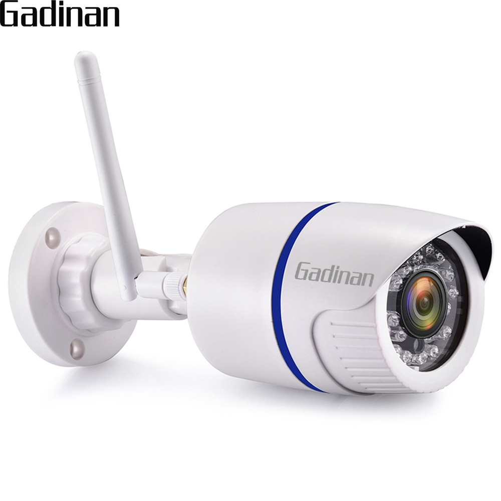 GADINAN Yoosee WiFi ONVIF IP Camera 1080P 2MP 720P 1MP Wireless P2P Motion Detection Bullet Outdoor With TF Card Slot Max 128G