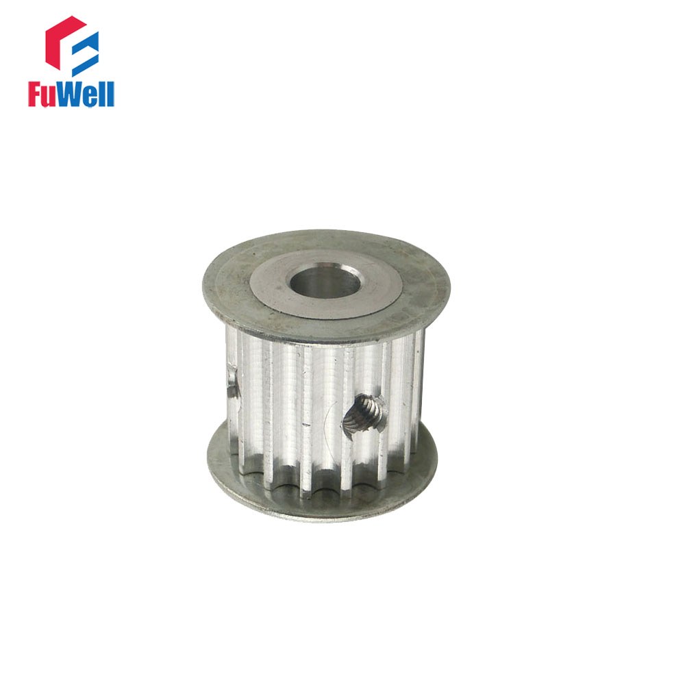 HTD5M 15T Timing Pulley 15Teeth 5M-15T 5/6/6.35/8/10/12mm Bore Gear Pulley 16mm/21mm Width Toothed Belt Pulley For CNC Machine