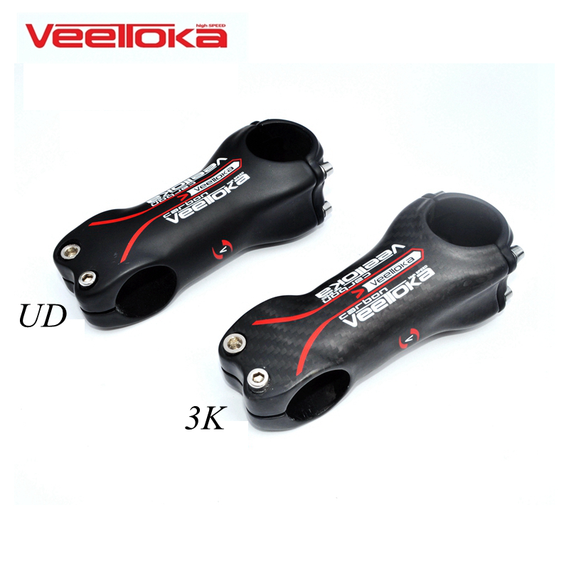 VEETOKA Full Carbon Fibre Bicycle Stems Road Bicycles Stem UD /3K Matt MTB Stem 31.8mm Angle 6 Bicycle Accessories Free Shipping