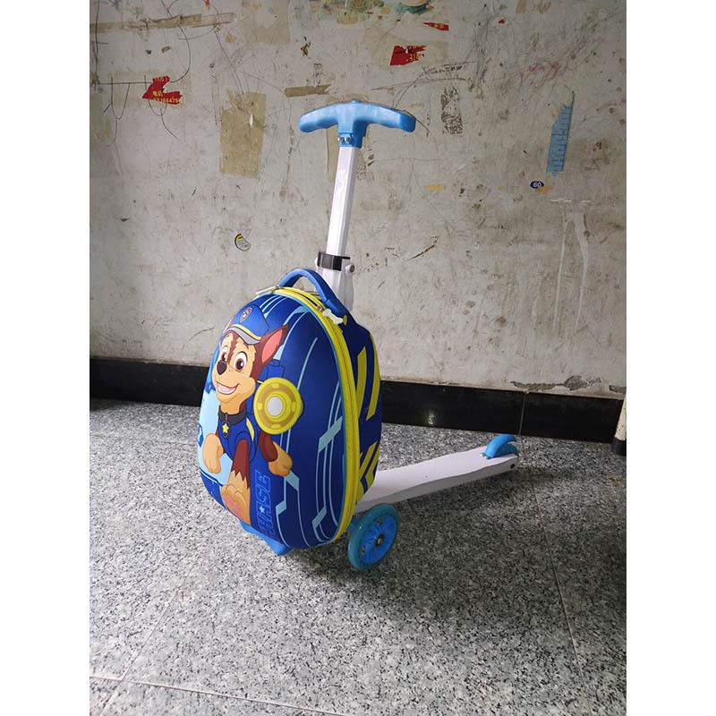Bagaj ve Çantalar'ten Bavullar'de LeTrend Sevimli Karikatür Çocuk Kaykay Haddeleme Bagaj Spinner Bavul Tekerlekler Öğrenciler İşlevli Arabası Çocuklar Seyahat Çantası'da  Grup 1