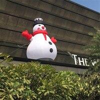 Inflatable Snowman for Christmas Inflatable Christmas Ornamental Product