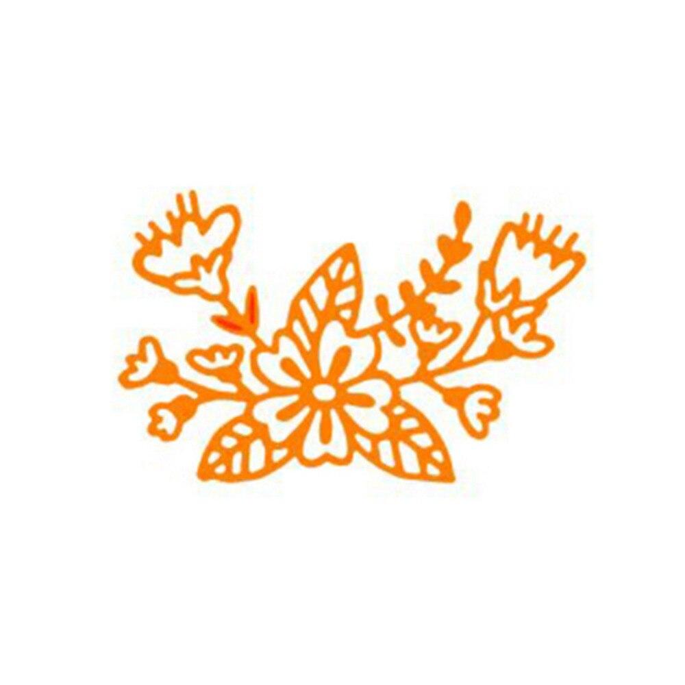 7.3x4.6 cm Flor Marco personalizado Plantillas de Troqueles De Corte ...