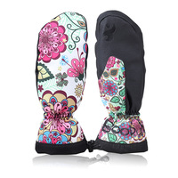 Quality Winter Thermal Ski Gloves Waterproof Cool Resistant Snowboard Skiing Gloves Men Womens Guantes For Skiing