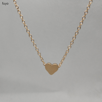 Chocker Heart Necklace in Gold or Silver