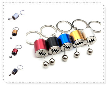 Car shape gear metal keychain model simulation pendant hot sale for BMW E46 E39 E38 E90 E60 E36 F30 F30 image