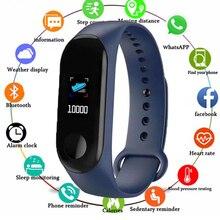 Smart Band Watch Bracelet Wristband Fitness Tracker Blood Pressure Heart Rate Fi