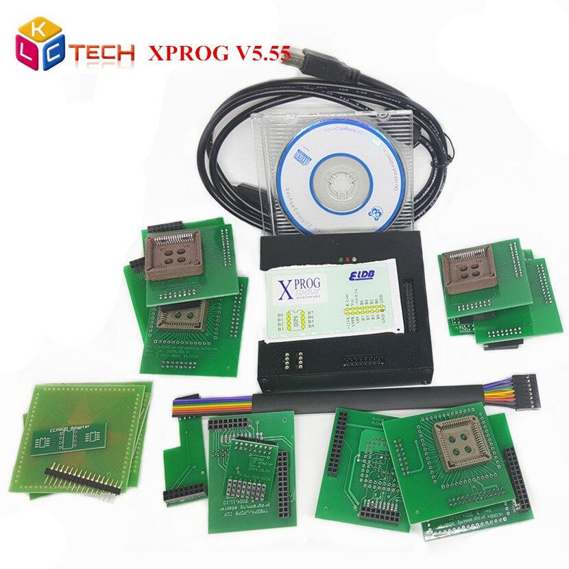 Цена за 2017 Лучшие Продажи X-prog M 5.55 ЭКЮ Chip Tuning Инструмент XPROG М V5.55 ЭКЮ Программист С Полным Набором, Чем X-prog M 5.0 Свободный Корабль